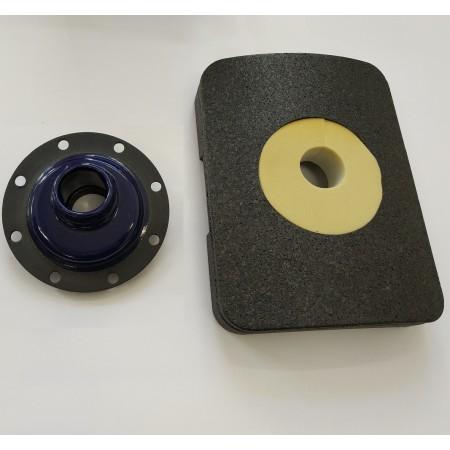 Крышка смотрового люка для Buderus SU, SF, SM на 300 и 400 л - фланец для установки ТЭН (для бойлеров выпуска 2012 - )