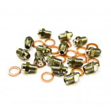 Комплект инжекторов (форсунки) на сжиженный газ для настенных котлов Baxi (Бакси): MAIN Four, ECO Four, LUNA-3, LUNA-3 Comfort, NUVOLA-3 Comfort