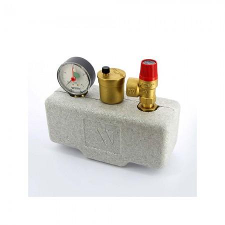 Группа безопасности котла с теплоизоляцией Watts KSG30/20M-ISO до 100 кВт
