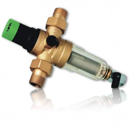 Фильтр с редукционным клапаном HONEYWELL серия FK 06 - 1/2'' AA для ХВС