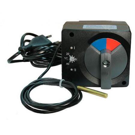 Сервопривод Meibes со встроенным термостатом 20-80 (электропривод трехпозиционный)