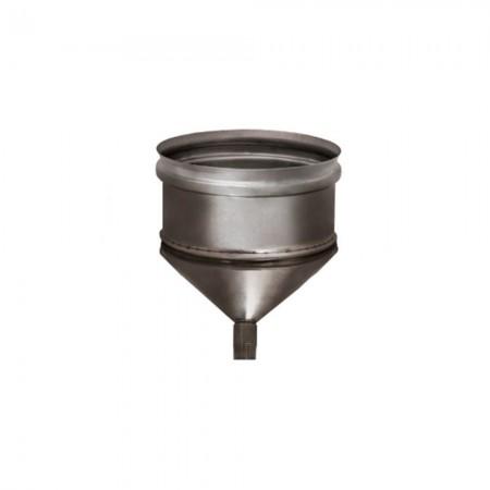 Конденсатосборник 150 мм (зеркальный). Дымоход Вулкан одностенный