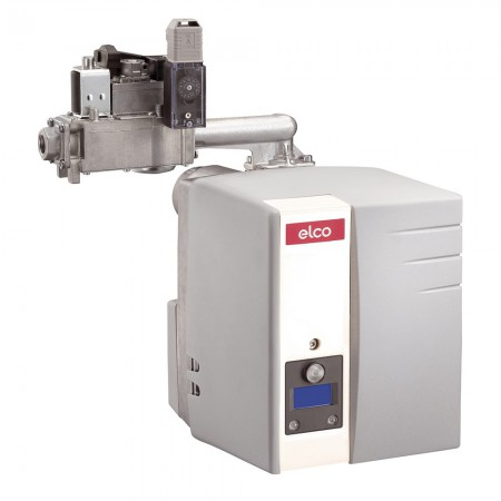 """Газовая горелка ELCO Vectron VG 1.105 E KN, мощность 50-105 кВт, одноступенчатая, газовая рампа d3/4""""- Rp3/4"""", короткая пламенная голова, с низкими выбросами NOx"""