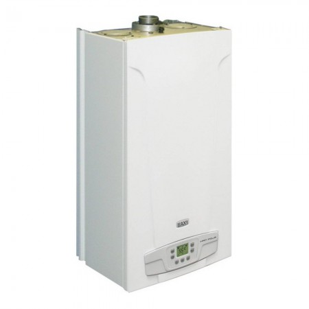 Котел Baxi ECO5 Compact 1.24 F (24 кВт) газовый настенный одноконтурный с закрытой камерой сгорания и ЖК дисплеем