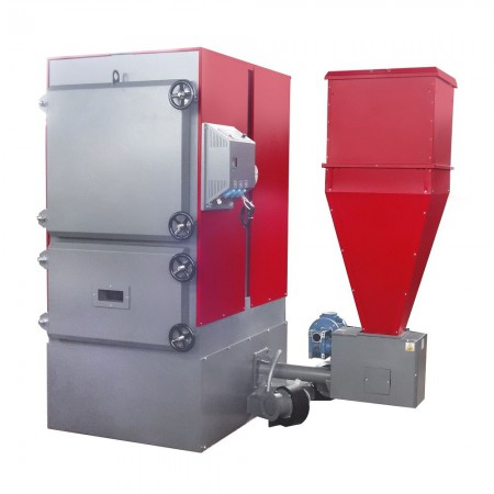 Пеллетный котел Faci 258 (258 кВт, бункер 400 л.)
