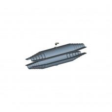 Кожух для изоляции линейного стыка (90-160мм) ТВЭЛ-ПЭКС (Изопэкс)