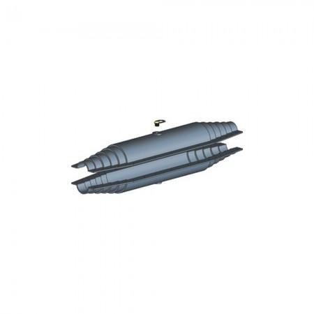 Кожух для изоляции линейного стыка универсальный (160-225мм) ТВЭЛ-ПЭКС (Изопэкс)