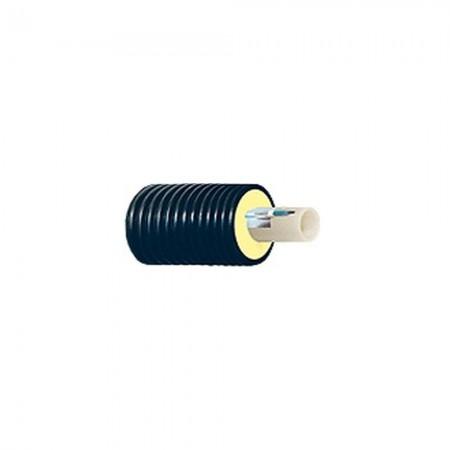 Труба теплоизолированная однотрубная ТВЭЛ-ПЭКС-ХВС 75/140 PEXa 6 бар с кабель каналом для холодного водоснабжения